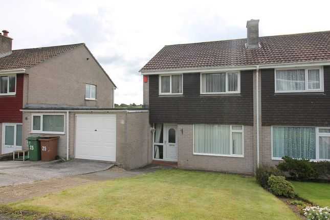 Thumbnail Semi-detached house for sale in Yealmpstone Drive, Plympton, Plymouth