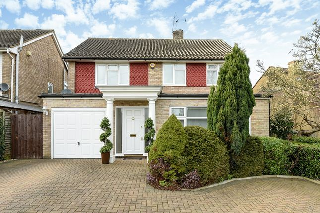 Thumbnail Detached house for sale in Woodfield Rise, Bushey Heath