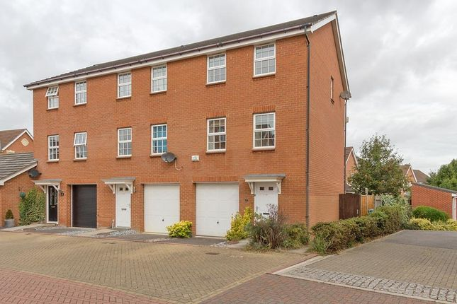 Thumbnail Town house to rent in Fire Opal Way, Sittingbourne