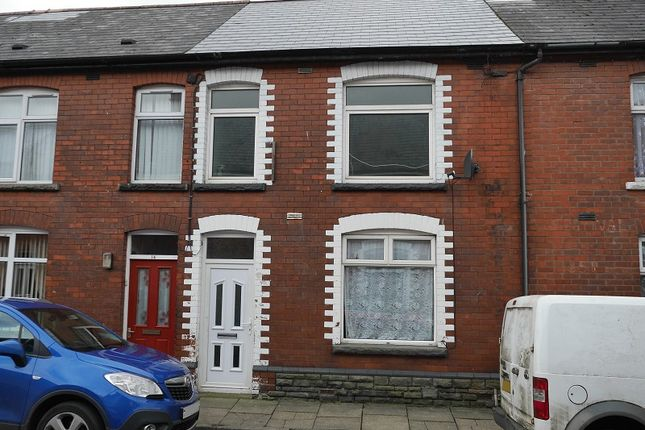 Thumbnail Terraced house for sale in Meredith Terrace, Newbridge, Newport.