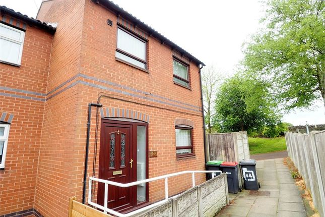 Thumbnail End terrace house for sale in Bramley Court, Sutton-In-Ashfield, Nottinghamshire