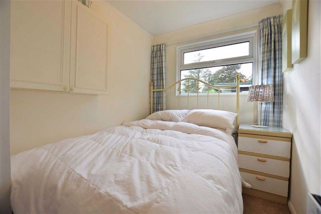 Bedroom 1 of Chalet 34, Woodlands, Bryncrug, Gwynedd LL36
