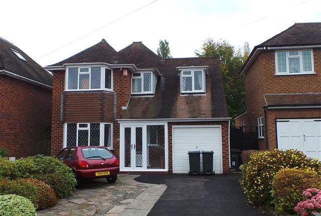 Thumbnail Detached house for sale in Longdon Drive, Four Oaks, Sutton Coldfield