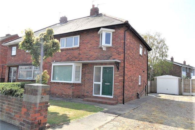 Thumbnail Semi-detached house for sale in Milton Road, Carcroft, Doncaster