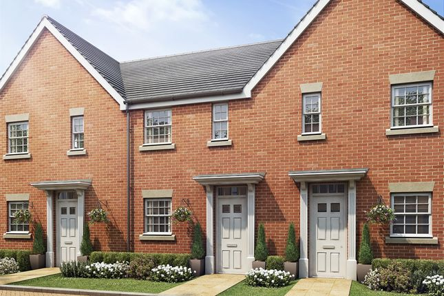 """Thumbnail Terraced house for sale in """"The Alnwick Urban"""" at Manston Green Industries, Preston Road, Manston, Ramsgate"""