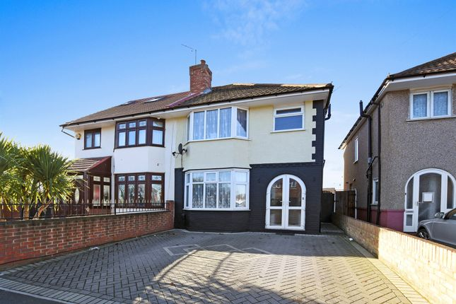 Thumbnail Semi-detached house for sale in Sunbury Road, Feltham