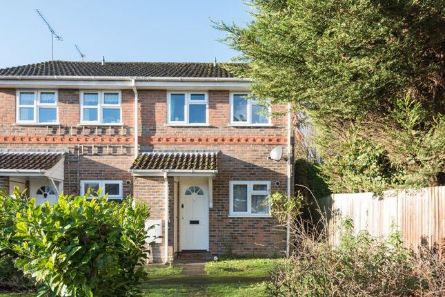 Thumbnail End terrace house to rent in Lightwater, Alsford Close