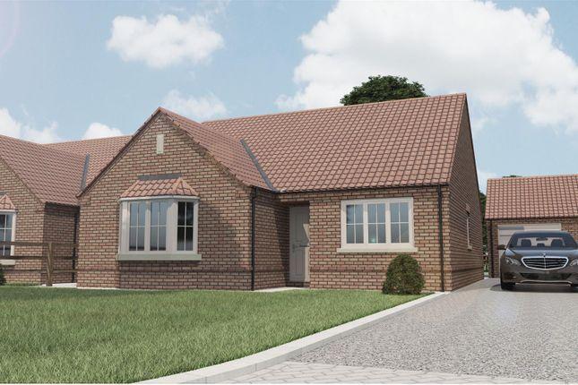 Thumbnail Detached bungalow for sale in Plot 3 Walcott Grove, Walcott Road, Billinghay, Lincolnshire