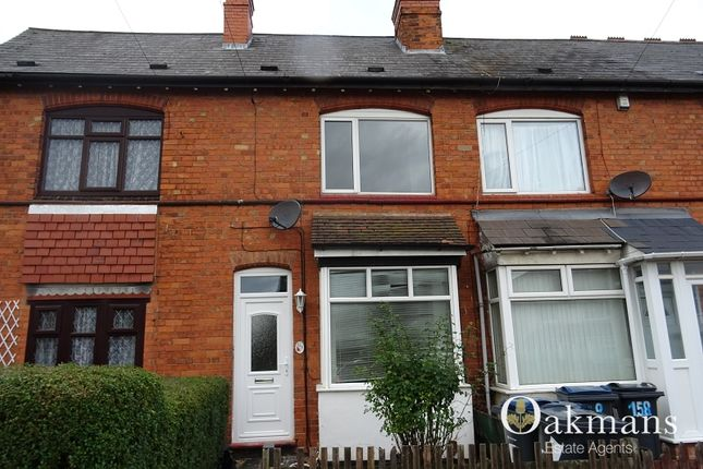 Thumbnail Terraced house to rent in Maas Road, Birmingham, West Midlands.
