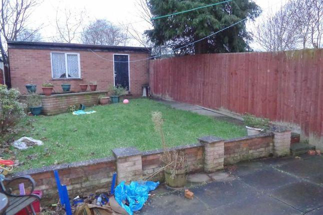 Rear Garden of Stechford Road, Hodge Hill, Birmingham B34