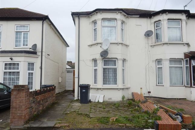 Thumbnail Semi-detached house for sale in Waltham Road, Southall, Middlesex