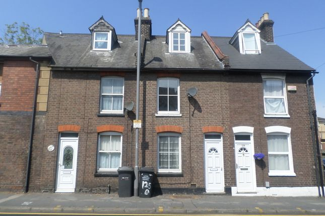 Thumbnail End terrace house to rent in Old Bedford Road, Luton