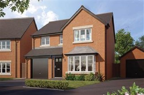 Thumbnail Detached house for sale in Lon Masarn, Ty Coch, Swansea