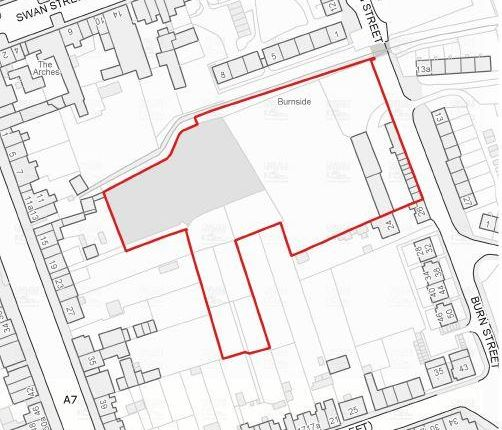 Stie Plan of Former Church, Burn Street, Longtown, Carlisle CA6