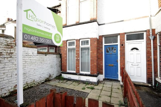 Thumbnail Terraced house to rent in Salisbury Gardens, Raglan Street, Hull