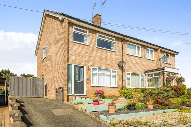 Thumbnail Semi-detached house for sale in Prince Charles Road, Oswestry