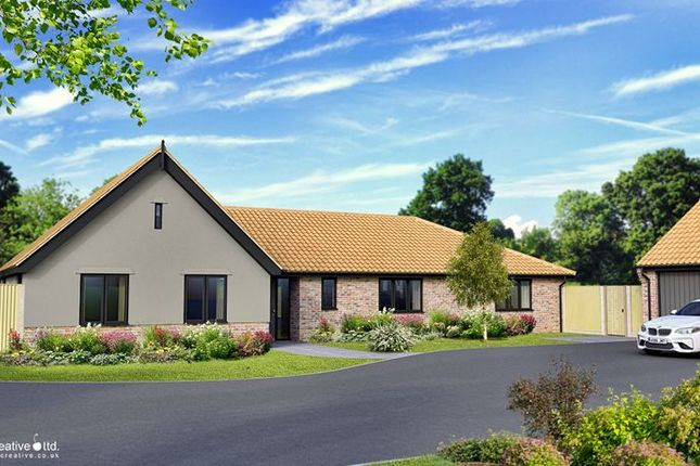 4 bed detached bungalow for sale in High Street, Whissonsett, Dereham NR20
