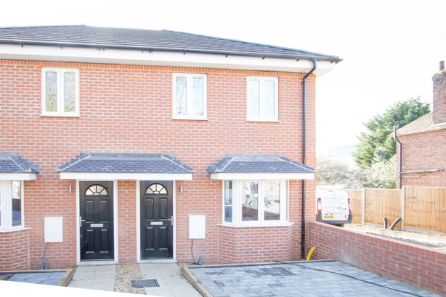 Thumbnail Semi-detached house for sale in Midland Road, Wellingborough