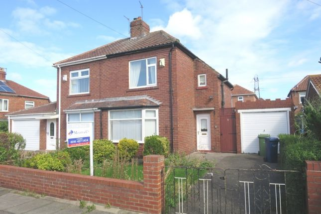 Thumbnail 2 bed semi-detached house for sale in Capulet Grove, South Shields