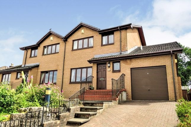 Thumbnail Semi-detached house for sale in Thornly Park Drive, Paisley