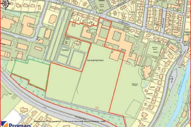 Thumbnail Land for sale in Part Former Eyemouth High School, Eyemouth, Borders