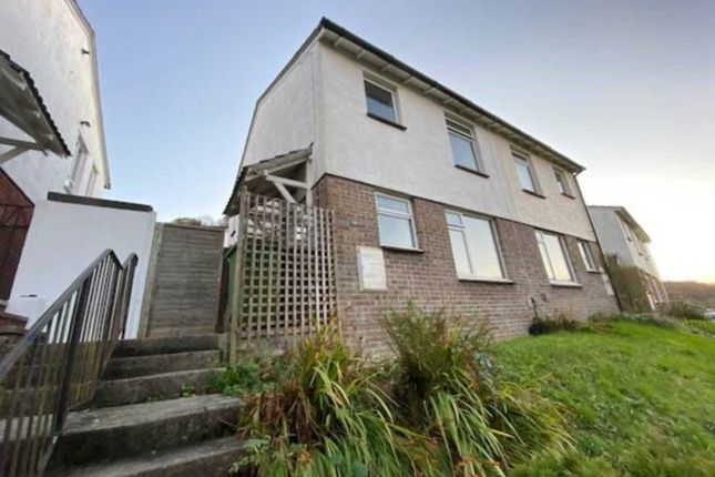 Thumbnail Semi-detached house to rent in Reddicliff Close, Plymstock