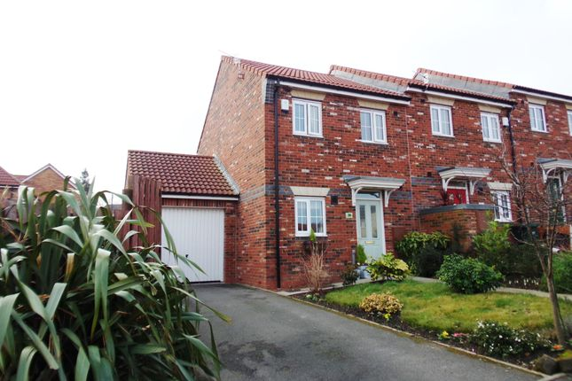 Thumbnail Semi-detached house for sale in Dunns Way, Blaydon-On-Tyne