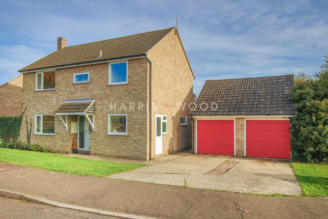 Thumbnail Detached house for sale in Heathfields, Eight Ash Green, Colchester