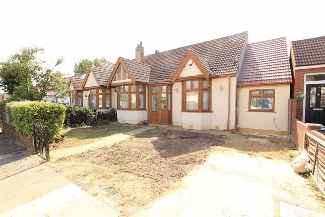 Thumbnail Semi-detached bungalow for sale in Brownlea Gardens, Seven Kings, Essex