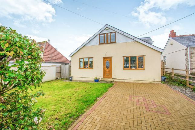 Thumbnail Detached bungalow for sale in Pencoedtre Road, Barry