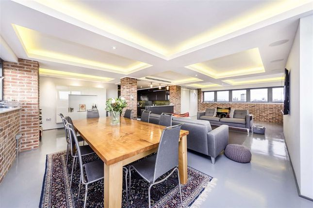 Thumbnail 4 bedroom flat for sale in Wapping Lane, London