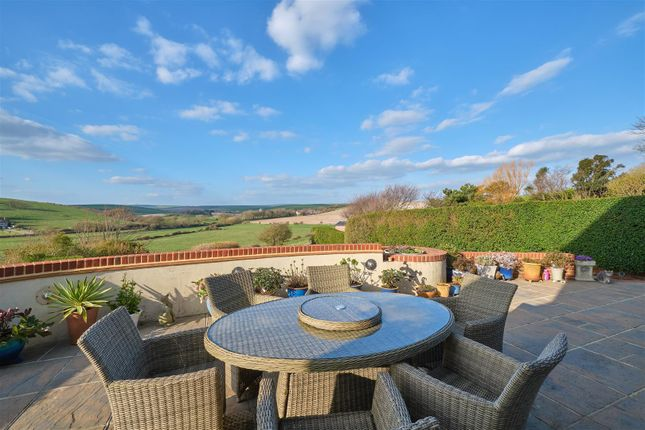 Patio View of Hill Rise, Seaford BN25