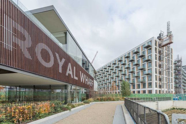 Thumbnail Flat for sale in Maritime, Royal Wharf, Royal Docks, London