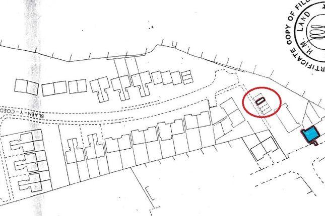 Plans of Garage 3 At Greenwood Court, Bryntirion, Rhiwbina, Cardiff. CF14