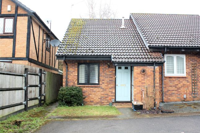 Thumbnail End terrace house to rent in Ratby Close, Lower Earley, Reading, Berkshire