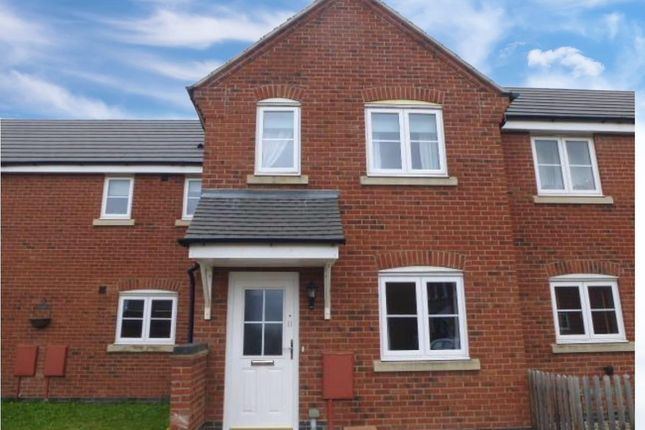 Thumbnail Terraced house to rent in Parker Close, Stamford