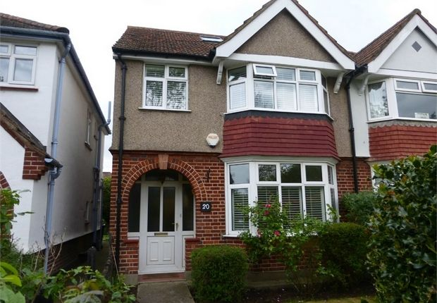 Thumbnail Semi-detached house for sale in Riverside Walk, Isleworth, Middlesex