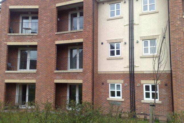 Thumbnail Flat to rent in Block Riverside, Clayton Le Moors, Accrington