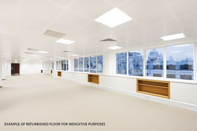 Example Floor of 9 Bridewell Place, London EC4V