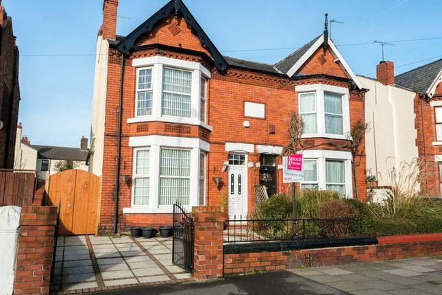 Thumbnail Semi-detached house for sale in Sefton Road, Litherland, Liverpool