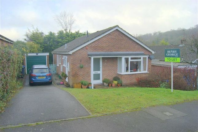 Thumbnail Detached bungalow to rent in Priorsfield, Marlborough, Wiltshire