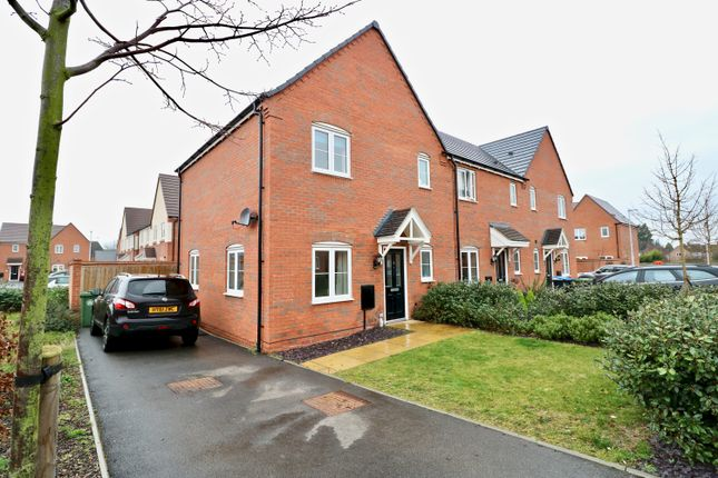 Thumbnail End terrace house for sale in Bosworth Avenue, Stratford Upon Avon