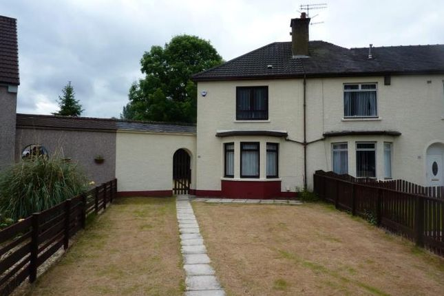 Thumbnail Semi-detached house to rent in Craggan Drive, Glasgow