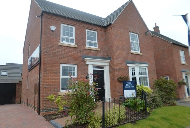 Thumbnail Detached house for sale in Birch Lane, Glenfield, Leicester.