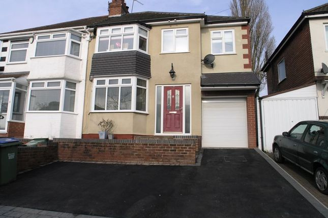 Thumbnail Semi-detached house for sale in Elm Croft, Oldbury