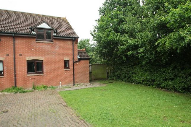 Thumbnail End terrace house for sale in Highfield Close, Great Ryburgh, Fakenham