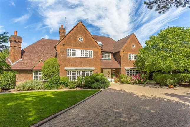 Thumbnail Detached house for sale in Neb Lane, Old Oxted, Surrey