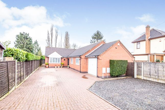 Thumbnail Detached bungalow for sale in Hillsborough Road, Glen Parva, Leicester