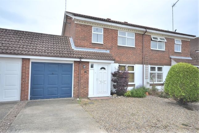 Thumbnail Semi-detached house for sale in Burch Close, King's Lynn