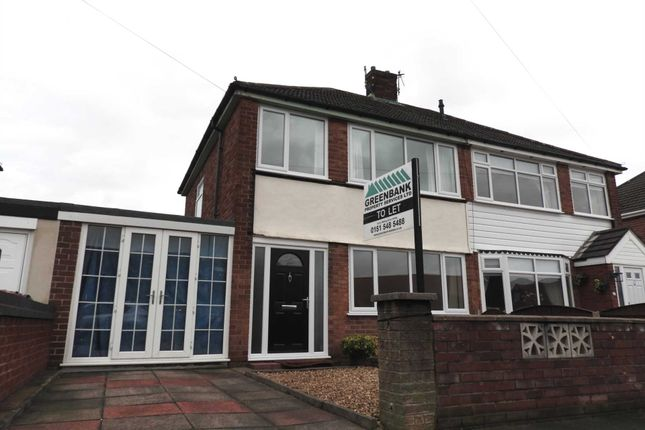 Thumbnail Semi-detached house to rent in Elm Road, Kirkby Row, Kirkby